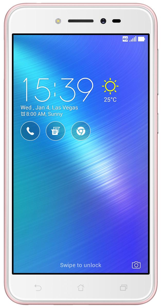 ASUS ZenFone Live ZB501KL, Pink (90AK0073-M00150)90AK0073-M00150ASUS ZenFone Live ZB501KL - поддерживает уникальную технологию BeautyLive, которая позволяет выполнять ретушь портретов в режиме реального времени, автоматически повышая качество фотографий и видео. Кроме того, в нем предусмотрены цифровые микрофоны с системой шумоподавления, способные передавать чистый стереозвук с четким и разборчивым голосом человека. Фронтальная камера может получать качественные фотографии даже при минимальной освещенности - она снабжена светочувствительной матрицей с большими физическими размерами и вспышкой, сохраняющей естественные тона кожи человека. С ее помощью также можно создавать панорамные и групповые снимки - широкоугольная оптика помогает запечатлевать в кадре все важные подробности. Основная 13-мегапиксельная камера не отстает от фронтальной - она снабжена светосильной оптикой, чувствительной матрицей и LED-вспышкой. Для нее предусмотрены такие интересные возможности, как автоматическое повышение качества портретов, функция HDR,...