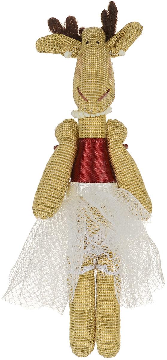 Брошь Коричневая лосиха-принцесса в белой юбке, 9 х 3 см. Ручная работа. Автор Леся КелбаВАН_KELBA_21Оригинальная брошь Лосиха-принцесса изготовлена из качественного текстиля. Брошь выполнена в виде фигурки симпатичного животного с подвижными лапками. Товары KELBA создается вручную и с хорошим настроением, чтобы вам принести позитив и удовольствие. Тип крепления - булавка с застежкой. Брошь можно носить на одежде, шляпе, рюкзаке или сумке. Ручная работа. Автор Леся Келба. Просим обратить ваше внимание на то, что работа, выполненная на заказ, может незначительно отличаться от представленной на фото, так как это авторская работа.