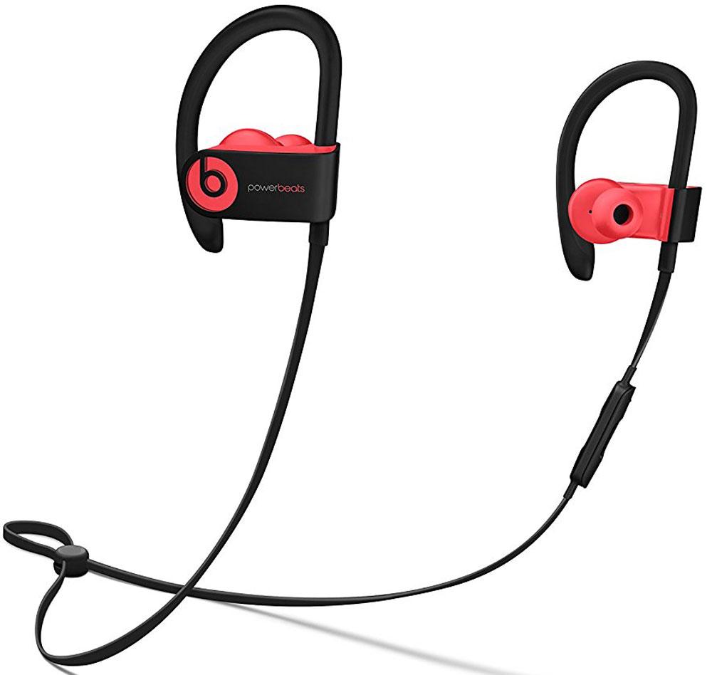 Beats Powerbeats 3 Wireless, Siren Red наушникиMNLY2ZE/AБеспроводные наушники Powerbeats 3 Wireless работают до 12 часов от аккумулятора - они готовы к любым нагрузкам. С ними вы заряжены на длительные интенсивные тренировки. Их мощный звук даст вам силы и энергию двигаться только вперед. Apple и Beats переворачивают наше представление о музыке с новой технологией Apple W1. Оснащенные встроенным чипом W1 наушники Powerbeats 3 легко подключаются к любому устройству Apple, дольше работают без аккумулятора и заряжаются всего за 5 минут благодаря технологии Fast Fuel. С функцией Fast Fuel вы сможете тренироваться ещё дольше и тратить меньше времени на зарядку. 5-минутной подзарядки будет достаточно для того, чтобы тренироваться под музыку ещё целый час. Тренируйтесь с максимальной отдачей в любую погоду - эти наушники с защитой от влаги и пота зарядят вас энергией для новых достижений. Прокачайте свой плейлист. Система с двумя акустическими головками создает широкий диапазон звука с ...