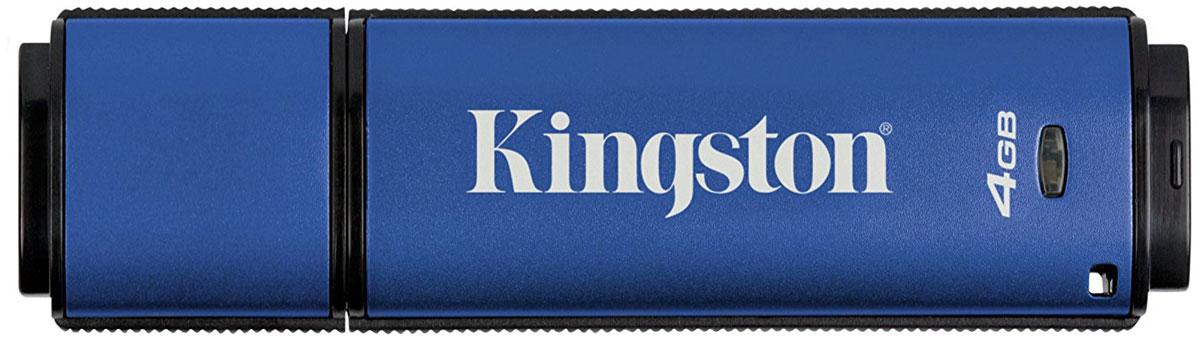 Kingston DataTraveler Vault Privacy 3.0 4GB USB-накопительDTVP30/4GBUSB-накопитель DataTraveler Vault Privacy 3.0 компании Kingston обеспечивает доступную по цене защиту бизнес- класса с 256-битным аппаратным шифрованием AES в режиме XTS. Он защищает 100% хранящихся данных и усиливает комплексную парольную защиту при помощи специальных требований для предотвращения несанкционированного доступа. Кроме того, накопитель блокируется и переформатируется после 10 попыток взлома. Организации могут настраивать накопители, чтобы они соответствовали внутренним корпоративным требованиям. С помощью настройки можно нанести логотип (Co-logo), указать серийные номера, количество попыток ввода пароля, минимальную длину пароля и собственные идентификаторы продукции для интеграции в стандартное конечное ПО управления (создание белых списков). Технология SuperSpeed USB 3.0 позволяет не идти на компромиссы между скоростью передачи и безопасностью. DTVP 3.0 сертифицирован по FIPS 197 и соответствует стандарту TAA, поэтому...