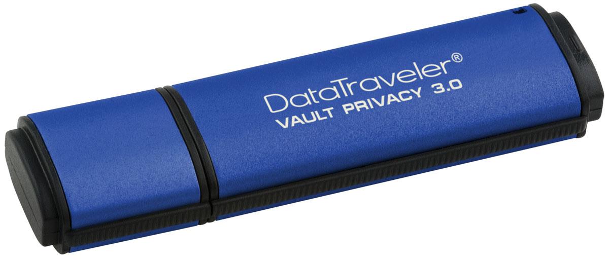 Kingston DataTraveler Vault Privacy 3.0 16GB USB-накопительDTVP30/16GBUSB-накопитель DataTraveler Vault Privacy 3.0 компании Kingston обеспечивает доступную по цене защиту бизнес- класса с 256-битным аппаратным шифрованием AES в режиме XTS. Он защищает 100% хранящихся данных и усиливает комплексную парольную защиту при помощи специальных требований для предотвращения несанкционированного доступа. Кроме того, накопитель блокируется и переформатируется после 10 попыток взлома. Организации могут настраивать накопители, чтобы они соответствовали внутренним корпоративным требованиям. С помощью настройки можно нанести логотип (Co-logo), указать серийные номера, количество попыток ввода пароля, минимальную длину пароля и собственные идентификаторы продукции для интеграции в стандартное конечное ПО управления (создание белых списков). Технология SuperSpeed USB 3.0 позволяет не идти на компромиссы между скоростью передачи и безопасностью. DTVP 3.0 сертифицирован по FIPS 197 и соответствует стандарту TAA, поэтому...