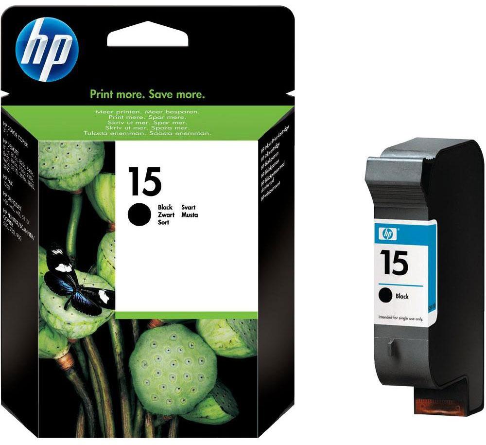 HP C6615DE (№15), Black картридж для DJ810/825/840/845/920/940/3820C6615DEВ чёрных струйных картриджах НР 15 используются фирменные пигментные чернила НР, обеспечивающие выдающееся качество печати на любой, даже обычной, бумаге. Картридж обеспечивает выдающееся качество печати на любой бумаге даже для повседневного использования. Благодаря чёткому тексту и графике документы производят впечатление профессиональной печати.
