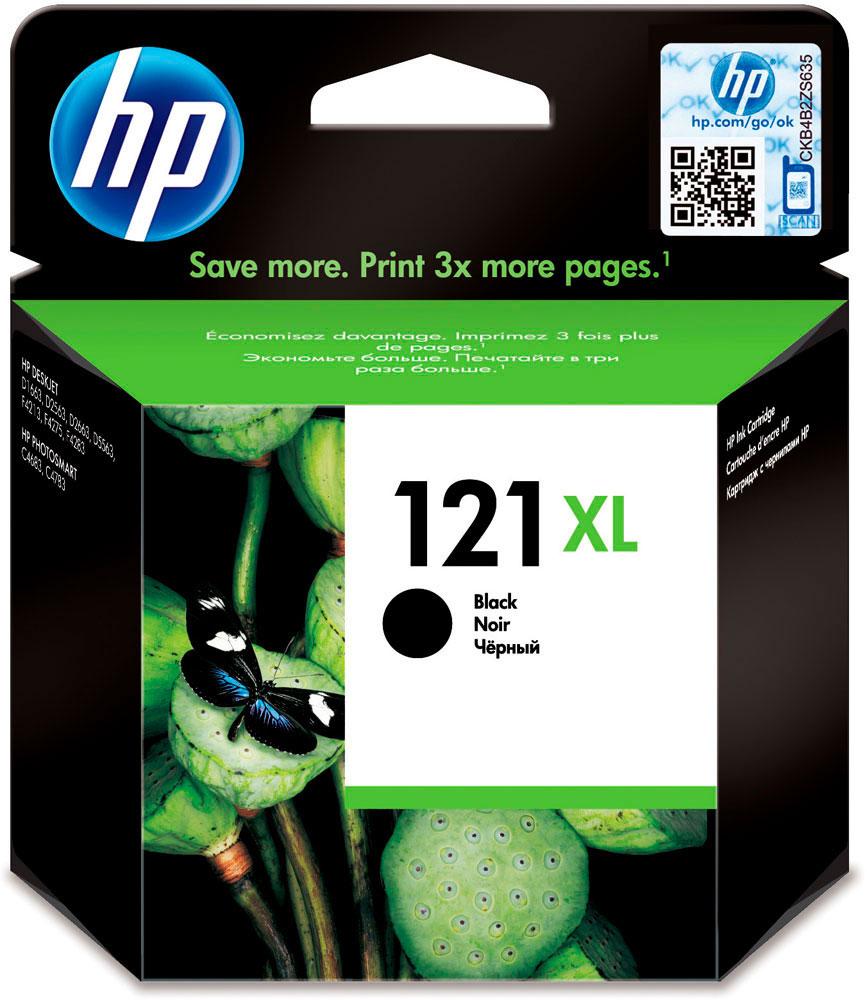 HP CC641HE (№ 121XL), Black картридж для DJ D2563/F4200CC641HEОригинальные струйные картриджи HP увеличенной емкости разработаны для печати цветных документов неизменно высокого профессионального качества при низкой стоимости страницы по сравнению с лазерными принтерами. Картриджи, специально разработанные для использования с вашим принтером HP, позволят создавать долговечные документы. Замена оригинальных струйных картриджей HP требует минимум усилий и времени.