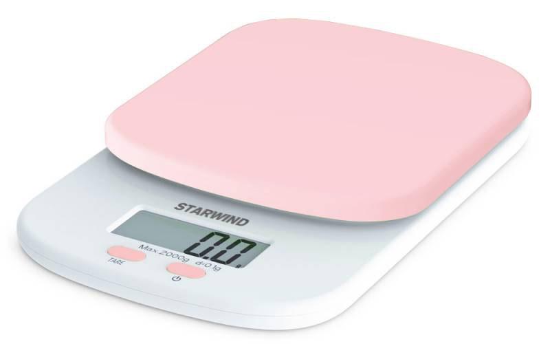 Starwind SSK2157, Pink весы кухонныеSSK2157Кухонные электронные весы Starwind SSK2157 - незаменимый помощник современной хозяйки. Они помогут точно взвесить любые продукты и ингредиенты. Кроме того, позволят людям, соблюдающим диету, контролировать количество съедаемой пищи и размеры порций. Предназначены для взвешивания продуктов с точностью измерения 1 грамм.