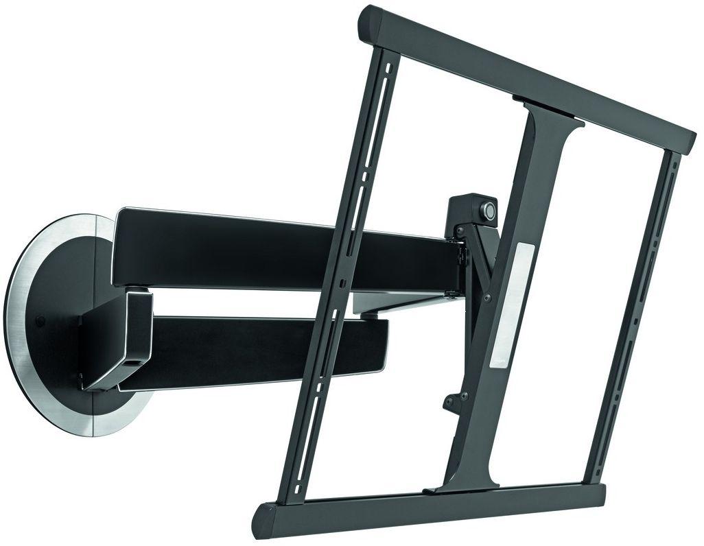 Vogels Next 7345, Black кронштейн для ТВNEXT 7345 BVogels DesignMount (NEXT 7345) – шарнирный настенный кронштейн для телевизоров. Это уникальное крепление для телевизоров создано с учетом нашего 40-летнего опыта. Кронштейны для телевизоров DesignMount компании Vogels являются в своем роде переломным моментом в дизайне и привносят свежий взгляд на рынок креплений для телевизоров.Мы уделили особое внимание каждой детали и постарались создать такое настенное крепление, которое имело бы роскошный внешний вид и было бы удобным в использовании. Достаточно одного взгляда, и вы всегда узнаете его. Достаточно одного прикосновения, и вы оцените, с какой легкостью он перемещается. Кронштейны для телевизоров DesignMount компании Vogels отличаются длительным сроком службы. Смелый дизайн кронштейна с опрятным видом и изящными линиями создает уникальные условия для размещения телевизора. Кронштейн DesignMount NEXT 7345 без усилий сдвигается к стене, оставляя минимальное пространство между креплением и стеной. Его можно без особых усилий...