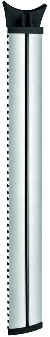 Vogels Next 7840, Silver настенный кабель-канал 100 смNEXT 7840Vogels NEXT 7840 Кабельная колонна (серия DesignMount). Как выглядит идеальная мультимедийная система? Она начинается с кронштейна для телевизоров Vogel's DesignMount и дополняется кабельной стойкой-коробом Vogel's, а также подставкой для AV-оборудования или универсальным креплением для звуковой панели, созданными компанией Vogels. Вся эта система способствует созданию единого композиционного центра на одной стене, который великолепно выглядит и прекрасно работает. Кабельная колонна NEXT 7840 длиной 100 см имеет такое же покрытие из анодированного алюминия, как и кронштейн DesignMount. Она позволяет скрыть до 10 кабелей и установить телевизор на идеальной для вас высоте.