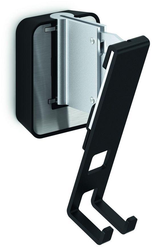 Vogels Sound 4201, Black кронштейн для колонокSOUND 4201Vogels Настенное крепление SOUND 4201 черного цвета для акустической системы Sonos PLAY:1. Получите максимальную отдачу от вашей акустической системы Sonos PLAY:1 Ваша акустическая система Sonos PLAY:1 гармонично впишется в любой интерьер при установке в любом месте на стене с помощью настенного кронштейна Vogel's SOUND 4201. Независимо от места крепления кронштейна: вверху или внизу, вне поля зрения или на самом видном месте, - вы сможете повернуть динамик под нужным углом для достижения оптимального звучания, благодаря возможности поворота кронштейна на 70° и наклона вверх и вниз на 30°. Этот плоский настенный кронштейн для акустической системы обеспечивает надежную опору для ваших динамиков Sonos PLAY:1 и поставляется в черном или белом исполнении, чтобы гармонично сочетаться с цветом динамиков. Установить кронштейн строго горизонтально - пустяковое дело, благодаря встроенному спиртовому уровню. Поверните ваш динамик под нужным углом для создания оптимального звучания. Настенное...