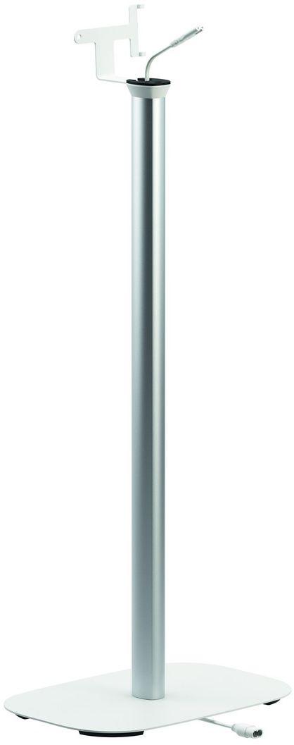 Vogels Sound 4303, White стойка для колонокSOUND 4303WVogels Vogels напольная стойка SOUND 4303 белого цвета для акустической системы Sonos PLAY:3 Получите максимальную отдачу от вашей акустической системы Sonos PLAY:3 Ваша акустическая система Sonos PLAY:3 гармонично впишется в любой интерьер благодаря установке на напольной стойке Vogel's SOUND 4303. Высота этой напольной стойки (82 см) позволяет расположить колонки на уровне ушей сидящего слушателя, что обеспечивает их наиболее качественное звучание. Вы сможете установить динамики как в горизонтальном, так и в вертикальном положении для создания оптимального звучания вашей акустической системы Sonos в любой точке комнаты. Эта напольная стойка Vogel's для акустической системы обеспечивает надежную опору для вашей акустической системы Sonos PLAY:3 и поставляется в черном или белом исполнении, чтобы гармонично сочетаться с цветом динамиков. Установка динамика очень проста, благодаря предварительно собранному посадочному месту для динамика и встроенному удлинительному шнуру питания....
