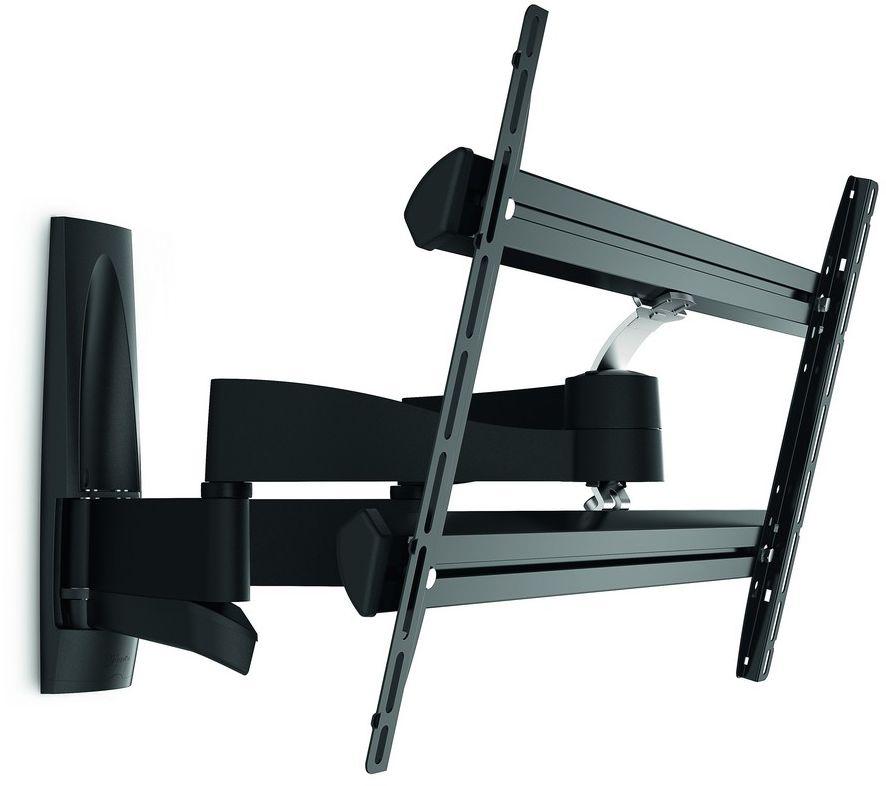 Vogels Wall 2350, Black кронштейн для ТВWALL2350Vogels Wall 2350 — поворотный кронштейн для телевизора. Для больших телевизоров с размером экрана до 65 дюймов (165 см) Кронштейн Wall 2350 подходит для телевизоров с размером экрана от 40 до 65 дюймов (от 101 до 165 см). Безопасный и надежный кронштейн для телевизоров, весящих до 45 кг. Подходит для тяжелых телевизоров. Телевизоры с большим экраном могут иметь очень большой вес. Прочные кронштейны Wall 2350 позволяют легко двигать даже самые тяжелые телевизоры. Если вам нужна качественная конструкция и совершенный дизайн, не обременительные для бюджета, самый лучший выбор — серия Vogel's Wall. Выполненные из стали большого сечения и прочного алюминия, эти кронштейны рассчитаны на многие годы интенсивного использования. Просто выгодное приобретение.