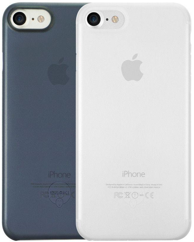 Ozaki O!coat 0.3 Jelly набор чехлов для iPhone 7, Clear Dark BlueOC720CD