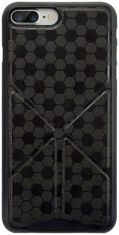 Ozaki O!coat 0.4+Totem Versatile Case чехол для iPhone 7 Plus, BlackOC745BK
