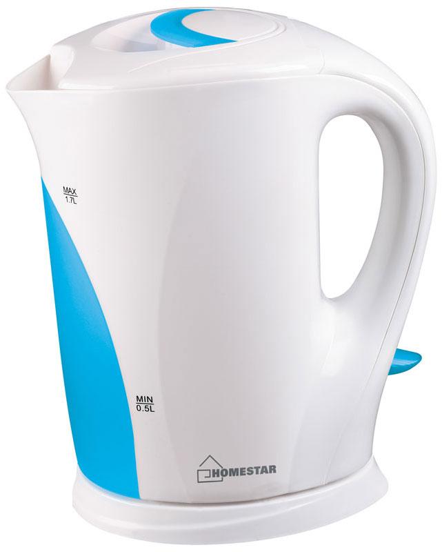 HomeStar HS-1004, White Light Blue электрический чайник