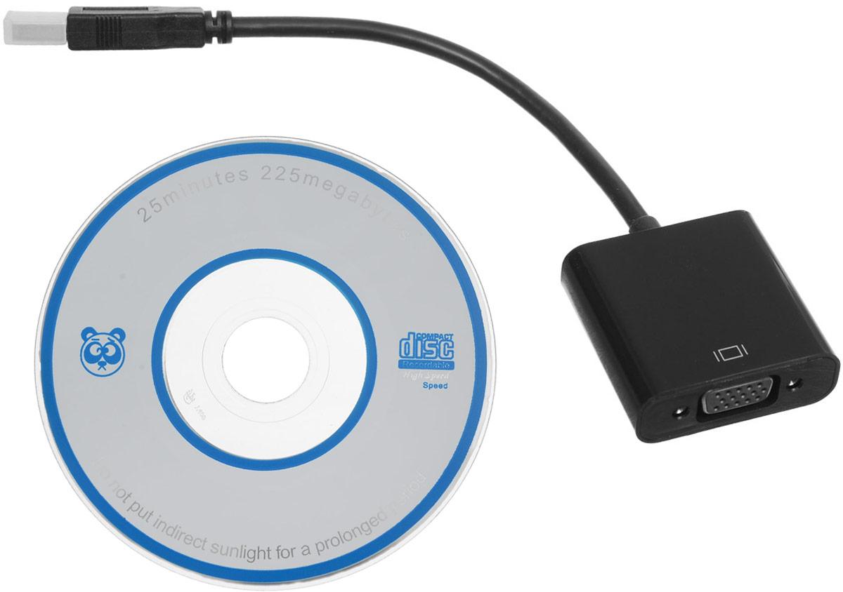 Greenconnect GL-U32VGA2 адаптерGL-U32VGA2Аадаптер Greenconnect GL-U32VGA2 позволяет подключить телевизор, монитор или проектор с интерфейсом VGA с помощью обыкновенного USB порта.