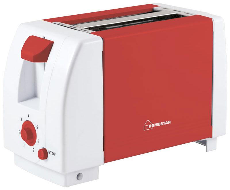 HomeStar HS-2002, Coral тостер54 002674Тостер HomeStar HS-2002 в корпусе из термостойкого пластика и 7 режимами работы позволяет получить хрустящие равномерно обжаренные тосты из любых сортов хлеба. Прибор оснащен двумя отсеками для одновременного обжаривания, а также кнопкой отмены выбранного режима и функцией автоматического подъема. Тостер удачно впишется в дизайн любой кухни и наполнит ее великолепным ароматом обжаренного хлеба.