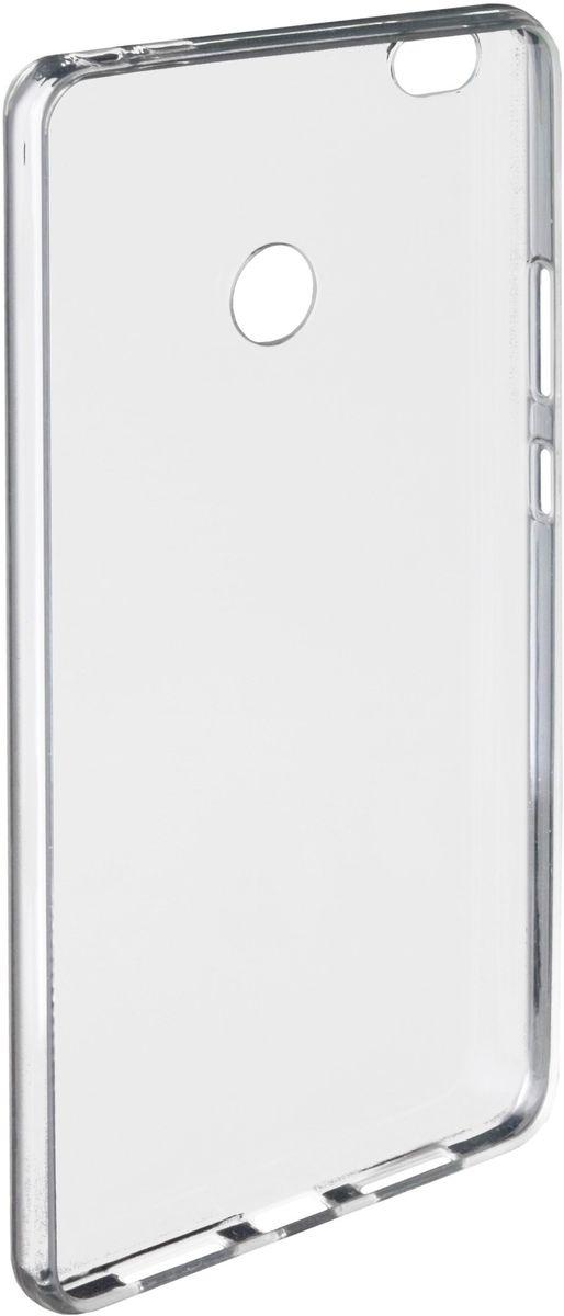 Untamo Gel чехол для Xiaomi Mi Max, ClearUGCXIMIMAXTRУпругий материал Gel кейса надежно гасит удары средней и легкой интенсивности и защищает корпус от царапин. Рамка по периметру экрана исключает прямой контакт с различными поверхностями и царапание стекла мелкими частицами пыли. Вентилируемая внутренняя поверхность чехла предотвращает его запотевание. Тип чехла: накладка на заднюю панель. Управление смартфоном: фальшкнопками на чехле. Особенность конструкции: невидимая рельефная сетка от запотевания и прилипания. Материал: TPU (силикон).