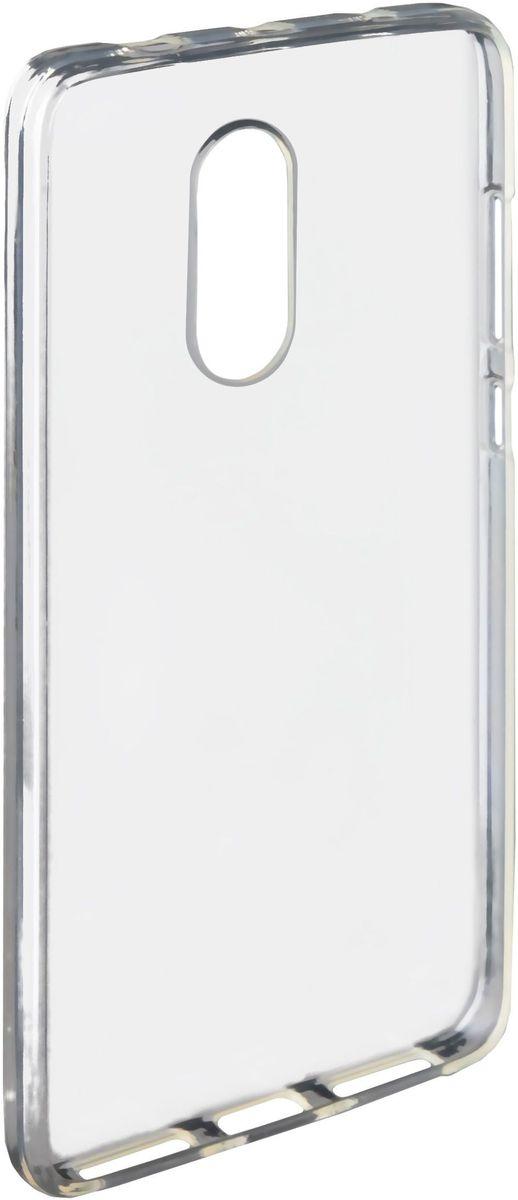 Untamo Gel чехол для Xiaomi Redmi Note 4, ClearUGCXIREDMINOTE4TRУпругий материал Gel кейса надежно гасит удары средней и легкой интенсивности и защищает корпус от царапин. Рамка по периметру экрана исключает прямой контакт с различными поверхностями и царапание стекла мелкими частицами пыли. Вентилируемая внутренняя поверхность чехла предотвращает его запотевание. Тип чехла: накладка на заднюю панель. Управление смартфоном: фальшкнопками на чехле. Особенность конструкции: невидимая рельефная сетка от запотевания и прилипания. Материал: TPU (силикон).