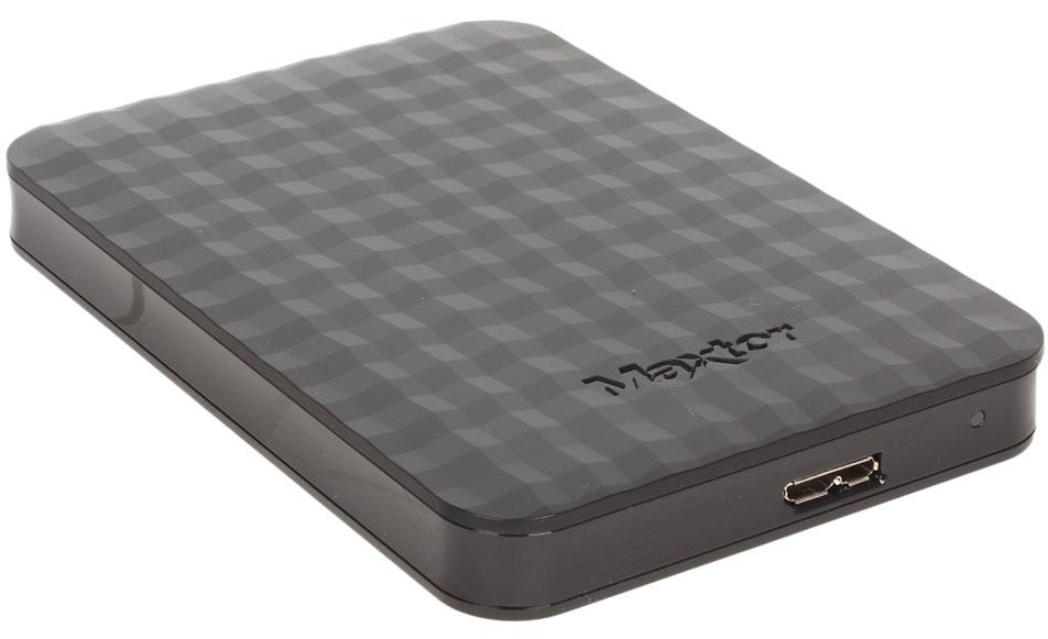 Seagate Maxtor M3 Portable 500GB USB 3.0, Black внешний жесткий диск (STSHX-M500TCBM)
