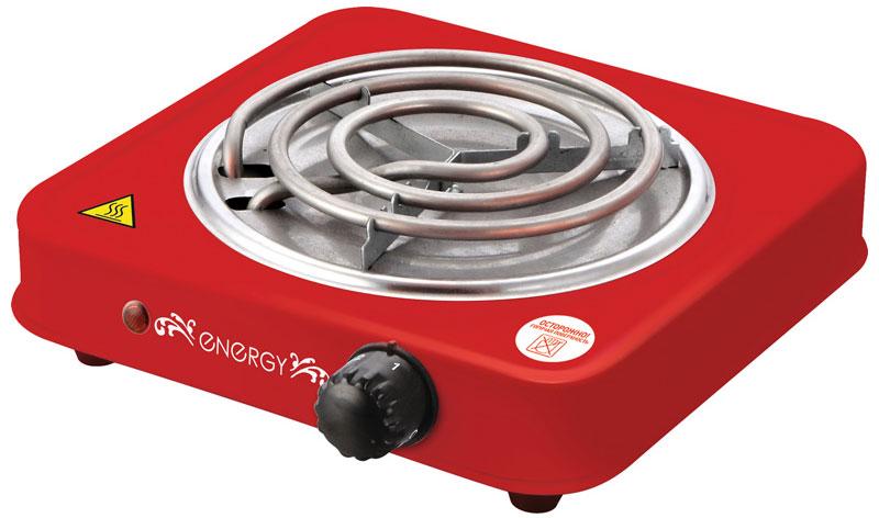 Energy EN-902R, Red электроплитка54 158974Компактная настольная плитка Energy EN-902 оснащена одной электрической конфоркой для быстрого разогрева и приготовления различных блюд. Прибор имеет плавную регулировку температуры и световую индикацию работы. Прорезиненные ножки обеспечивают устойчивое положение прибора. Благодаря компактным размерам электрическая плитка станет незаменимым помощником на даче или небольшой кухне. Диаметр конфорки: 140 мм.