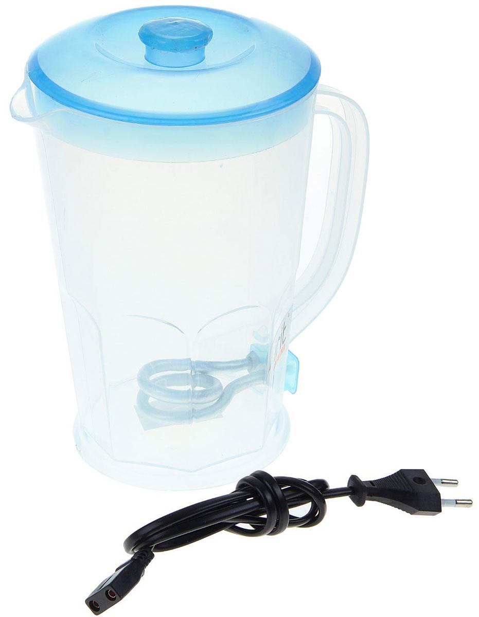 Irit IR-1117 электрический чайник79 02444Чайник электрический Irit IR-1117 — это отличное решение для тех, кто любит устраивать быстрые перерывы на чай или кофе на работе или торопится сделать чай для всей семьи с утра. Это возможно благодаря нагревательному элементу, за счет которого вода закипает за несколько минут. Корпус изготовлен из термостойкого пластика. Чайник прост в управлении и долговечен в использовании. Благодаря оригинальному дизайну чайник впишется в интерьер любого помещения.