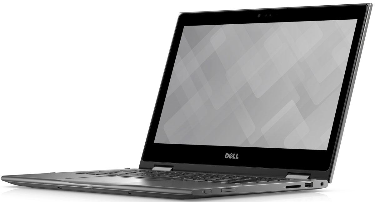 Dell Inspiron 5368 (5438), Grey5368-5438Ноутбук 2 в 1 Dell Inspiron 5368 выполнен в привлекательном дизайне и оснащается сенсорным дисплеем формата Full HD (1920 x 1080 точек) с широкими углами обзора. Ноутбук обеспечивает широкую функциональность и удобные опции. Возможность поворота на 360 градусов позволяет использовать ноутбук в четырех режимах. Это режим ноутбука для работы с документами, режим презентации для выступлений перед аудиторией, режим стенда для потоковой передачи фильмов и режим планшета для общения в социальных сетях. Инфракрасная камера с поддержкой технологии Windows Hello позволяет отказаться от пароля и входить в свою учетную запись посредством распознавания лица пользователя, а клавиатура с подсветкой позволяет комфортно работать в условиях недостаточной освещенности. ПО для управления звуком Waves MaxxAudio Pro повышает качество воспроизведения мультимедиа, а беспроводное соединение стандарта IEEE 802.11ac с большим диапазоном и высоким быстродействием...