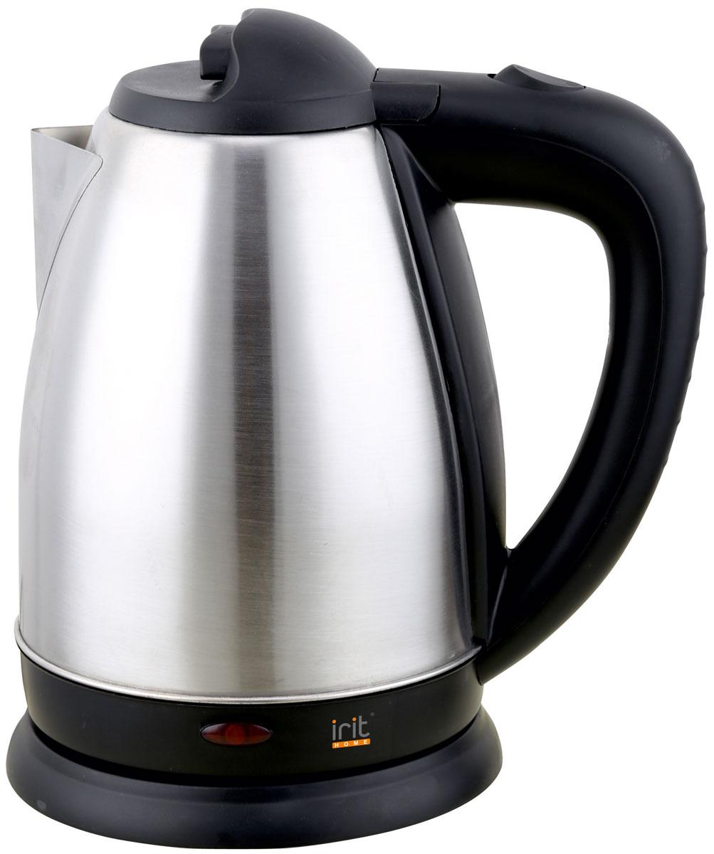 Irit IR-1321 электрический чайник79 01904Электрический чайник Irit IR-1321 прост в управлении и долговечен в использовании. Изготовлен из высококачественных материалов. Прозрачное окошко позволяет определить уровень воды. Мощность 1500 Вт вскипятит 1,8 литра воды в считанные минуты. Беспроводное соединение позволяет вращать чайник на подставке на 360°. Для обеспечения безопасности при повседневном использовании предусмотрены функция автовыключения, а также защита от включения при отсутствии воды.
