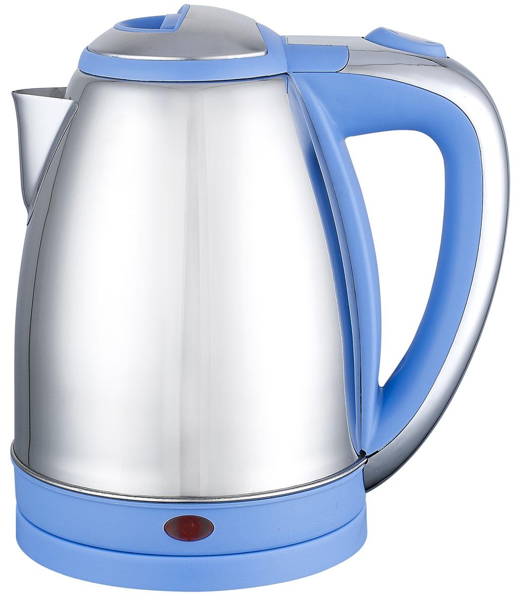 Irit IR-1314, Blue электрический чайник79 02583Электрический чайник Irit IR-1314 прост в управлении и долговечен в использовании. Изготовлен из высококачественных материалов. Прозрачное окошко позволяет определить уровень воды. Мощность 1500 Вт вскипятит 1,8 литра воды в считанные минуты. Для обеспечения безопасности при повседневном использовании предусмотрены функция автовыключения, а также защита от включения при отсутствии воды.