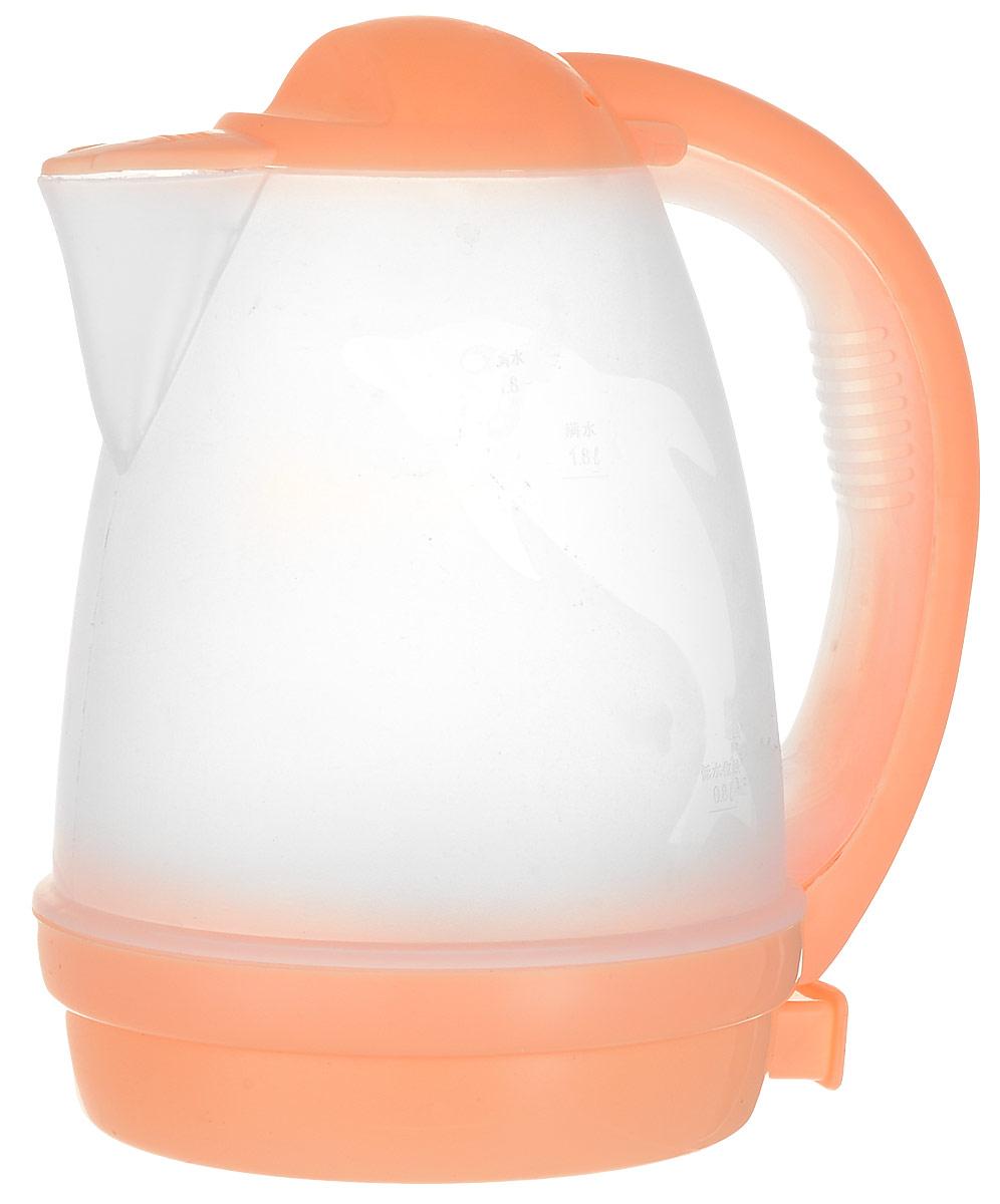 Irit IR-1118 электрический чайник79 02445Чайник электрический Irit IR-1118 - это отличное решение для тех, кто любит устраивать быстрые перерывы на чай или кофе на работе или торопится сделать чай для всей семьи с утра. Это возможно благодаря нагревательному элементу, за счет которого вода закипает за несколько минут. Корпус изготовлен из термостойкого пластика. Чайник прост в управлении и долговечен в использовании. Благодаря оригинальному дизайну чайник впишется в интерьер любого помещения.