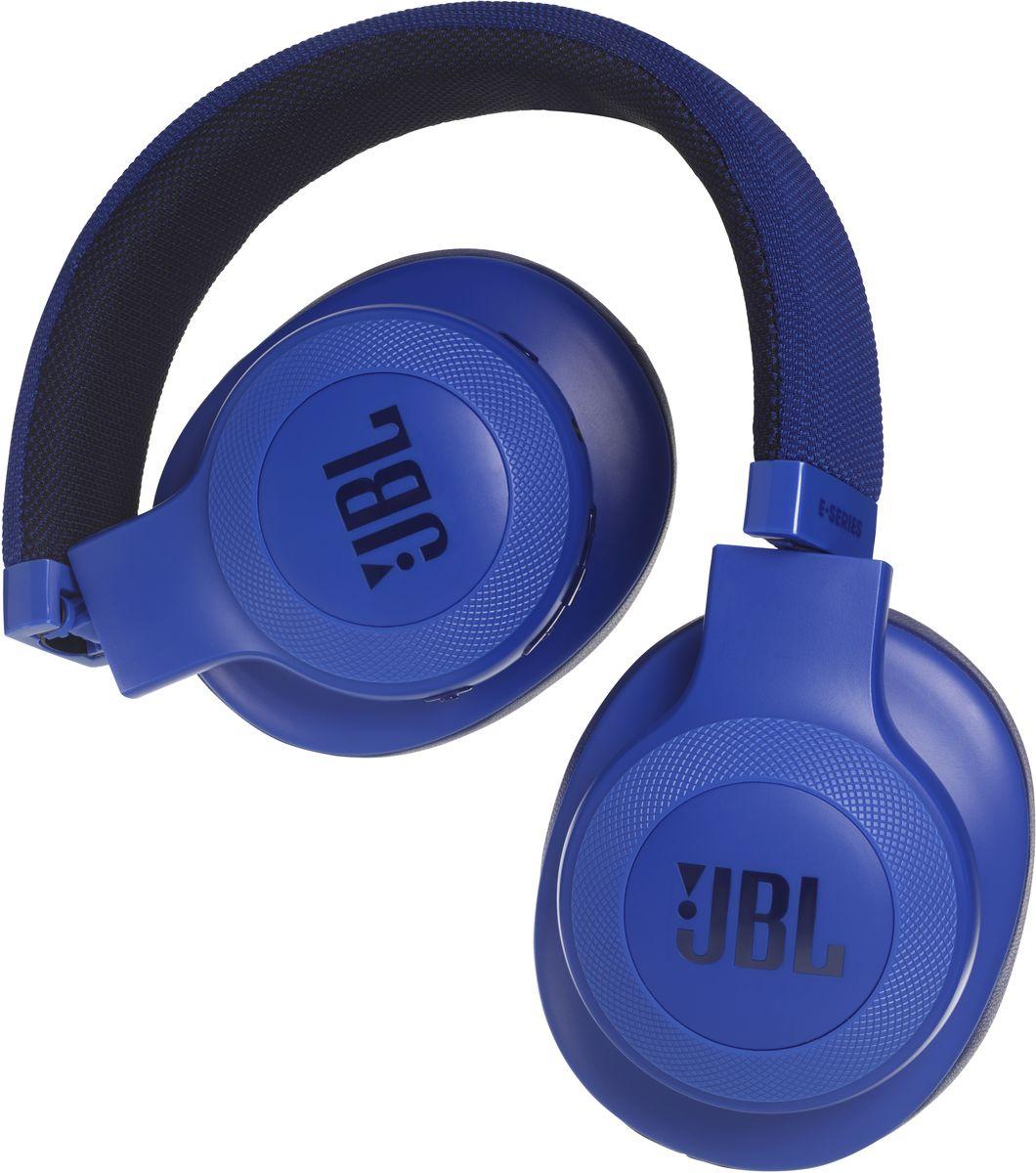 JBL E55BT, Blue беспроводные наушникиJBLE55BTBLU