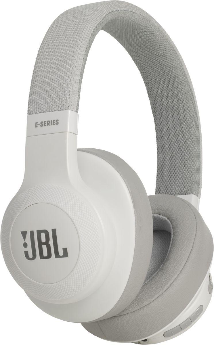 JBL E55BT, White беспроводные наушникиJBLE55BTWHT