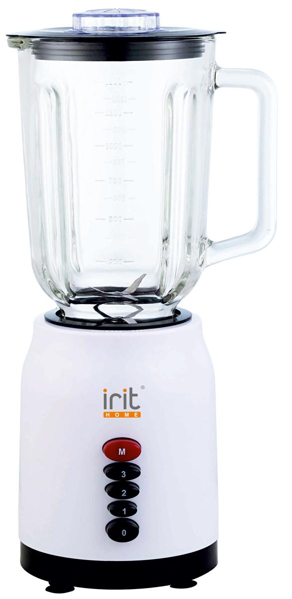 Irit IR-5511 блендер79 02605Компактный и простой в эксплуатации блендер Irit IR-5511 для людей, ведущих активный образ жизни, спортсменов и молодых мам. Надежные металлические ножи обеспечат быстрое измельчение продуктов до нужной вам консистенции. При помощи Irit IR-5511 можно приготовить ваши любимые коктейли, сорбеты или смузи. Разборная конструкция позволят легко очистить устройство.