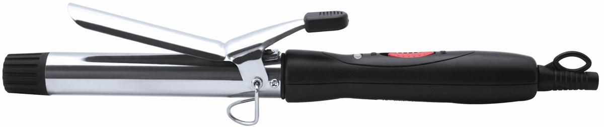 Irit IR-3124 щипцы для завивки волос79 01450Щипцы для завивки волос Irit IR-3124 - идеальный инструмент для создания великолепных локонов и элегантных причесок с волнами. Они легки и комфортны в работе, ими приятно пользоваться благодаря удобной ручке и вращающемуся на 360° шнуру питания. Мощность в 15 Вт обеспечивает быстрый нагрев и достижение рабочей температуры. Безопасная подставка позволяет положить щипцы в процессе завивки, а световой индикатор напомнит о том, что они в работе. Диаметр нагревательного элемента: 19 мм