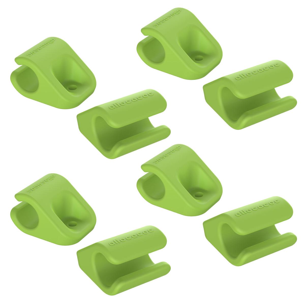 Allocacoc CableFix, Green держатель для кабеля, 8 шт0004GN/CBLFIXДержатель для проводов Allocacoc CableFix поможет не только навести порядок на вашем рабочем столе, но и сделать работу за ним более комфортной. Можно прикрепить к поверхностям разными способами: от липкой ленты до самореза. Липкие пластинки входят в комплект. Благодаря таким держателям провода легко убираются и надежно фиксируются в нужном вам положении и месте. Совместимость: кабели диаметром от 4 мм до 10 мм