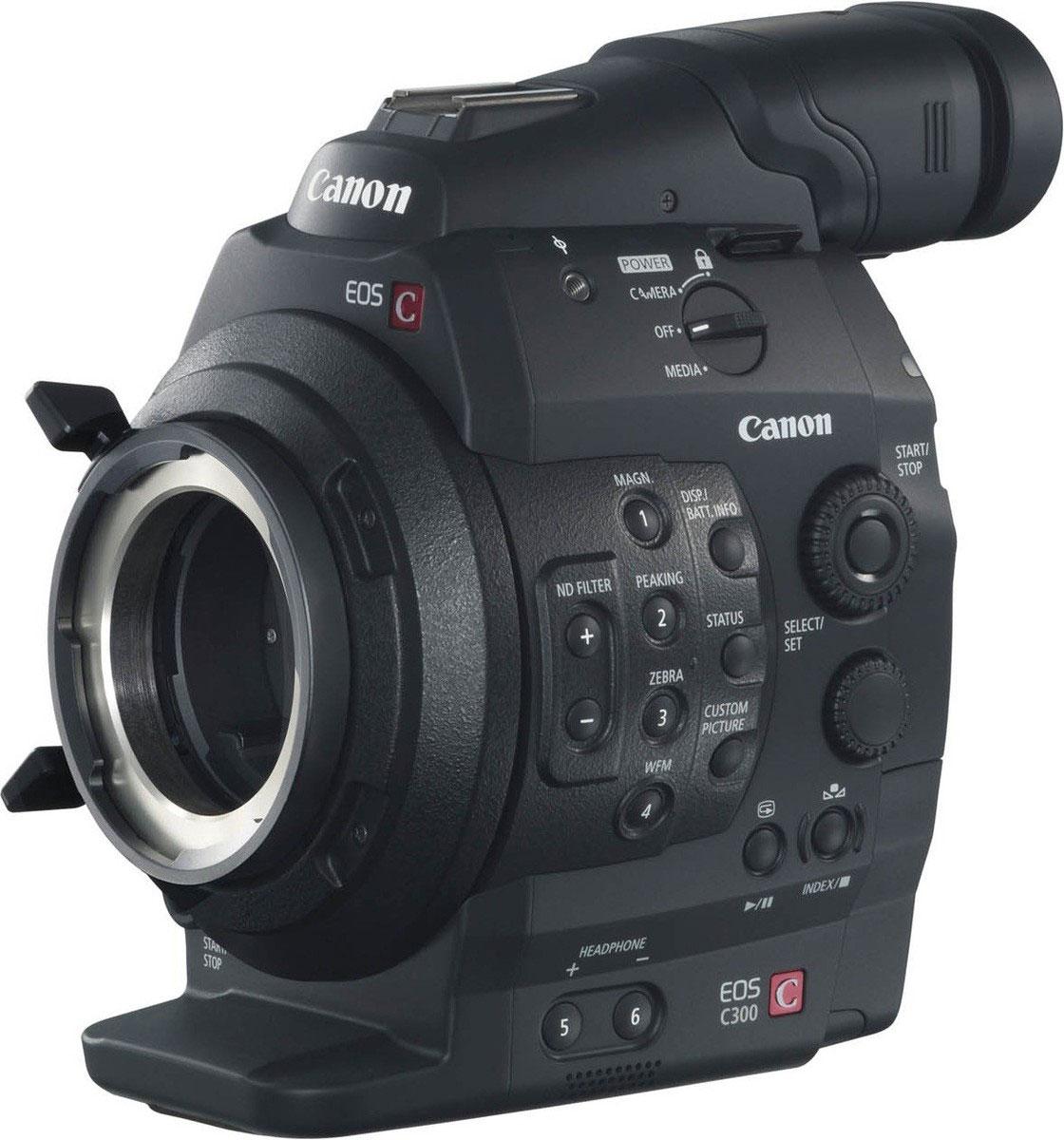 Canon EOS C300 PL цифровая кинокамераEOS-C300-PLПрофессиональная камера Canon EOS C300 PL сочетает в себе надежную технологию видеосъемки и богатейший опыт в создании и использовании объективов с творческим подходом Canon. Сменные объективы дают ни с чем не сравнимую свободу для того, чтобы рассказать любую историю. Матрица CMOS Super 35-мм 8,3 МП, разработанная и произведенная компанией Canon специально для видеосъемки, позволяет осуществлять 3-цветную RGB обработку для записи в формате Full HD. Технология матрицы Canon позволяет создавать изображения в высоком разрешении, с низким уровнем шумов, с уменьшенной вероятностью возникновения дефекта запаздывания изображения (rolling shatter) и низким энергопотреблением. Она также дает обычные преимуществами большой матрицы, к которым относится красивая съемка с малой глубиной резкости. PL-крепление камеры EOS C300 отвечает стандартам, принятым в отрасли. Оно совместимо с множеством взаимозаменяемых объективов, уже используемых в профессиональном кинопроизводстве,...