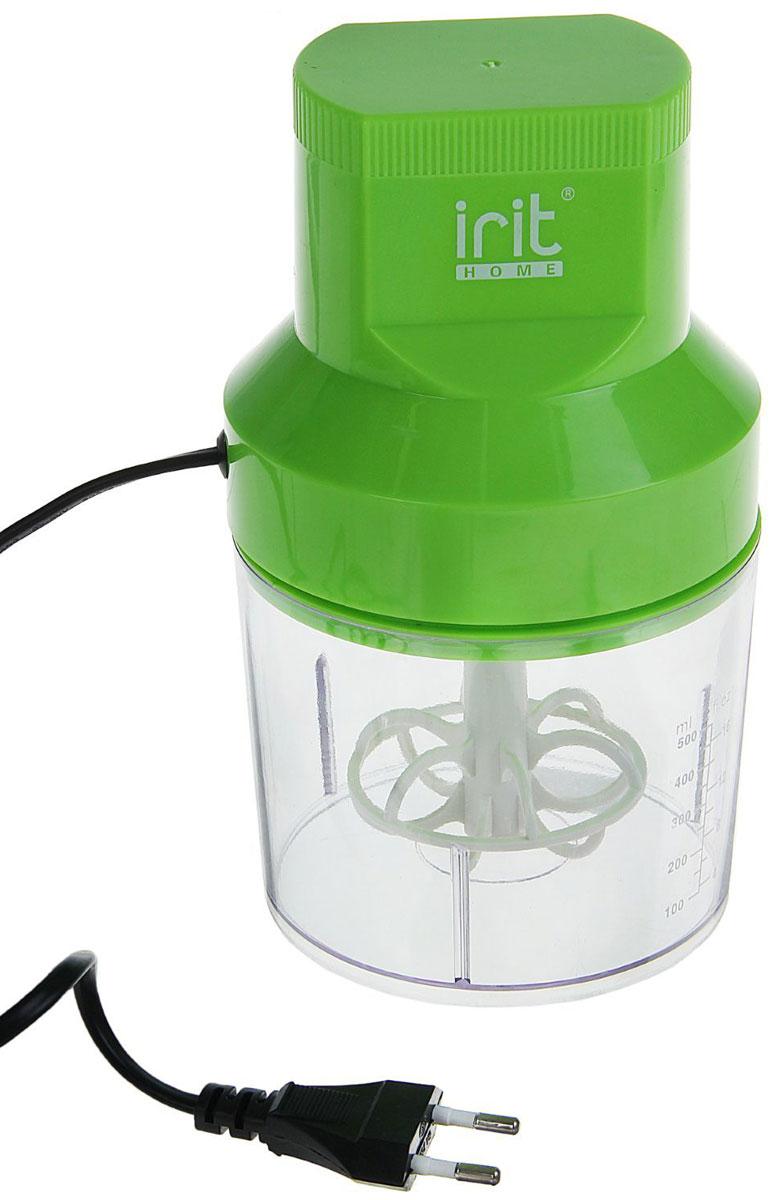 Irit IR-5041 измельчитель79 02507Измельчитель Irit IR-5041 поможет быстро приготовить салат, нарезать зажарку для супа, покрошить лёд для коктейлей, измельчить орехи для торта или сделать заготовку из мяса. Данная модель имеет прозрачную чашу с мерной шкалой, благодаря которой удобно контролировать количество ингредиентов. Корпус выполнен из ударопрочного пластика, ножи — из нержавеющей стали. Прибор имеет компактные размеры, его удобно хранить, и при этом он станет отличным помощником на кухне.