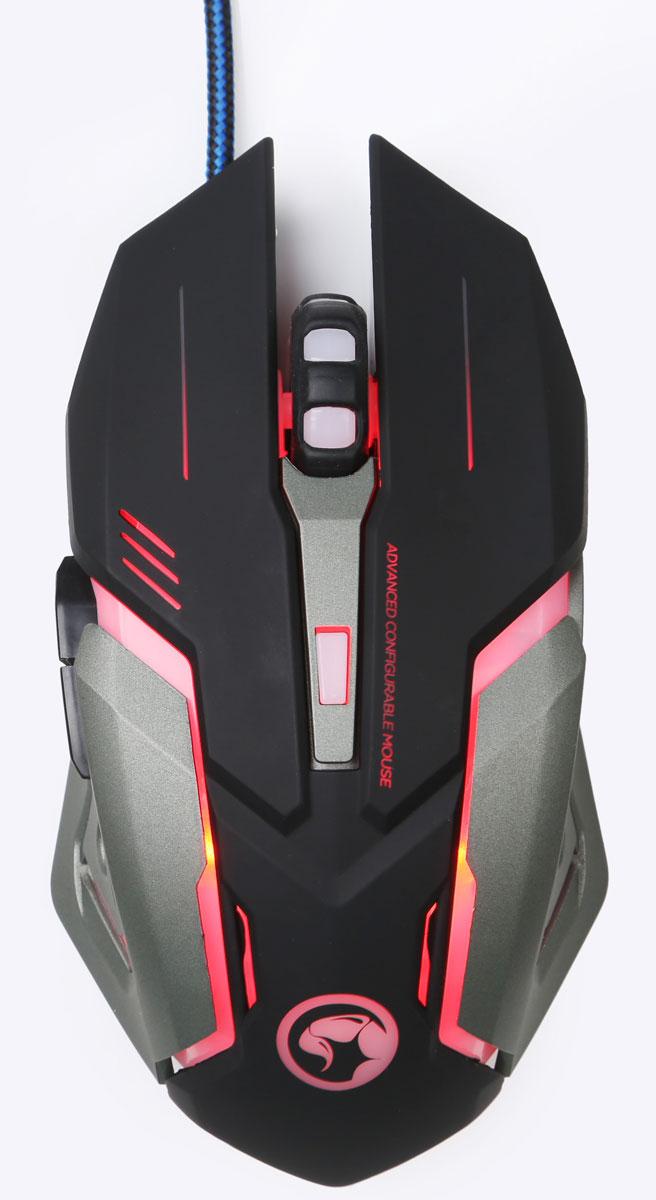 Marvo M314 игровая мышьM314Игровая премиальная проводная оптическая мышь с многоцветной дышащей подсветкой, игровым сенсором и профессиональными переключателями. Чувствительность DPI: 1200/1600/2400/3200; Срок службы: 3 миллиона нажатий.