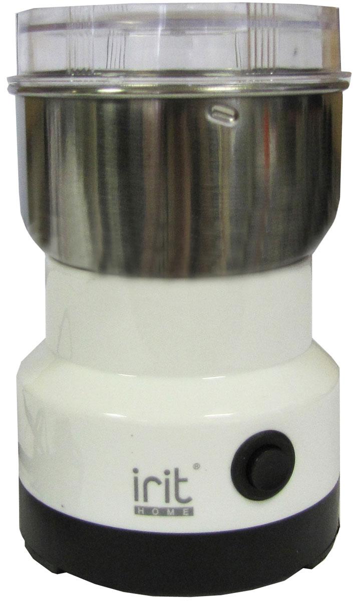 Irit IR-5016 кофемолка79 00416Кофемолка Irit IR-5016 с ротационным ножом, прозрачной крышкой и мощностью 120 Вт отлично справится с работой. Компактная модель не займет много места на кухне. Функция блокировки включения при снятой крышке обеспечит безопасность, а защита от перегрева сохранит прибор на долгое время.