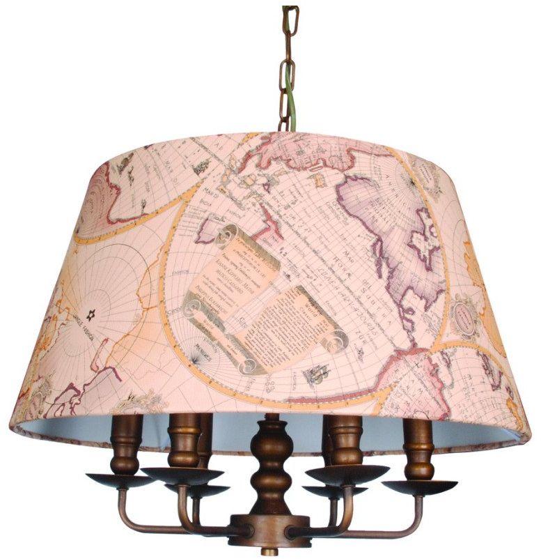 Люстра подвесная Favourite Mappa, 6 х E14, 60. 1122-6P1122-6P