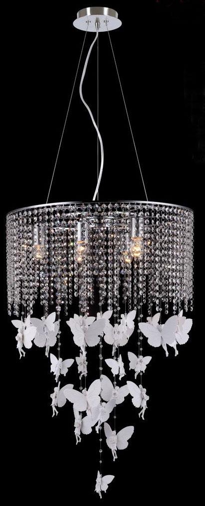 Люстра каскадная подвесная Favourite Fairies, 6 х E27, 40W. 1165-6PC1165-6PC