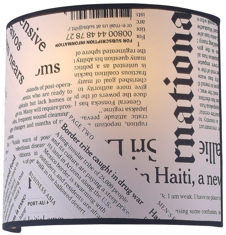Светильник настенный Favourite Giornale, 1 х E27, 25. 1271-1W1271-1W