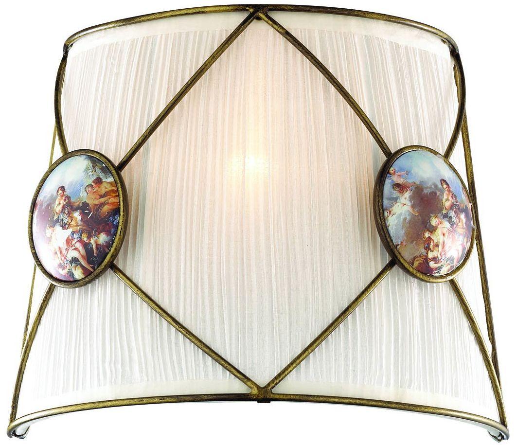 Светильник настенный Favourite Elegy, 1 х E14, 40. 1316-1W1316-1W