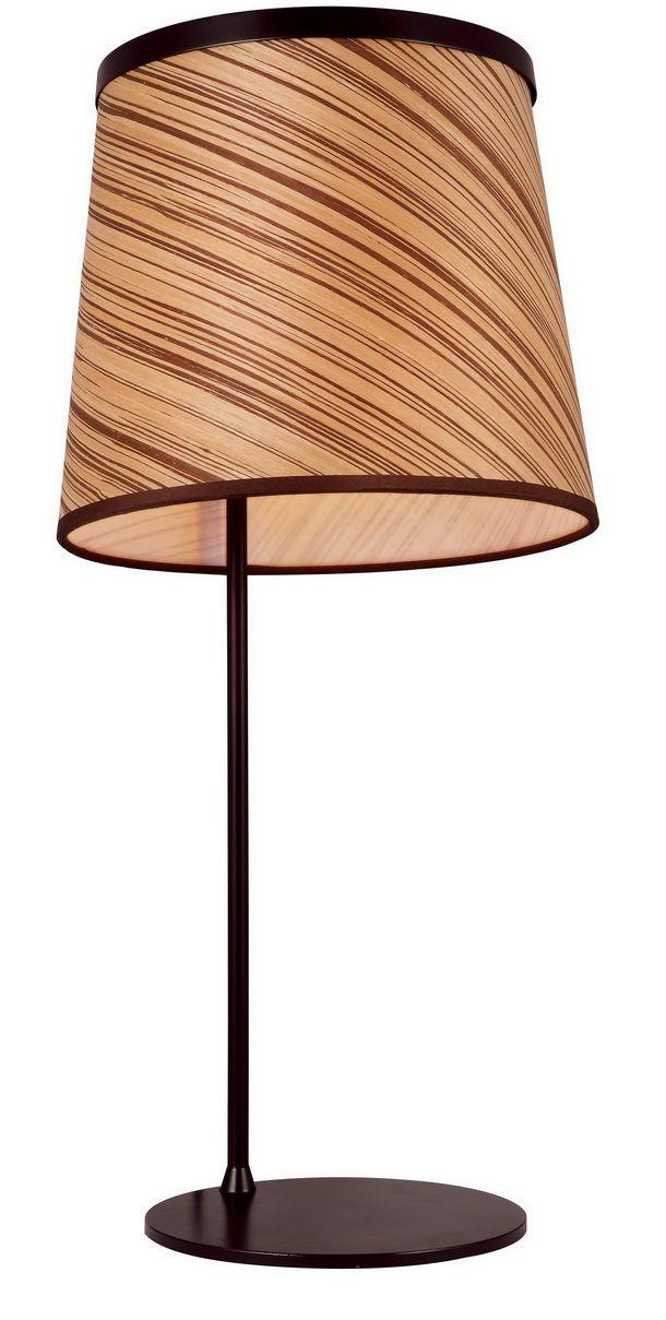 Лампа настольная Favourite Zebrano, 1 х E27, 25. 1355-1T1355-1T