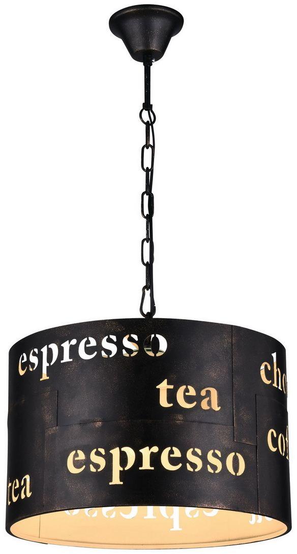 Светильник подвесной Favourite Espresso, 3 х E27, 60. 1503-3P1503-3P