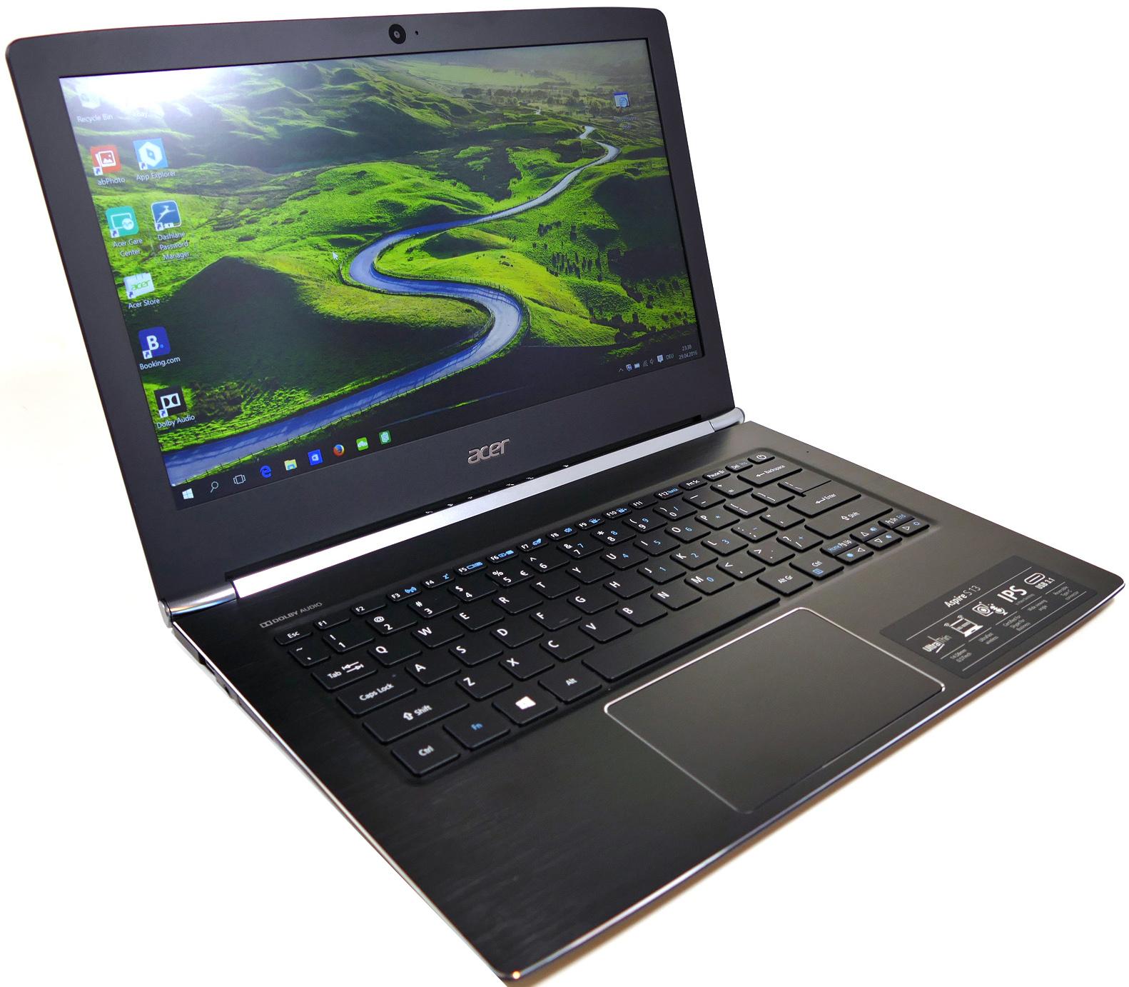 Acer Aspire S5-371-33RL (NX.GCHER.003)NX.GCHER.003Aspire S 13 это ноутбук с тонким корпусом, длительным временем автономной работы, новейшими процессорами Intel® Core™ 6-го поколения и улучшенным оснащением.