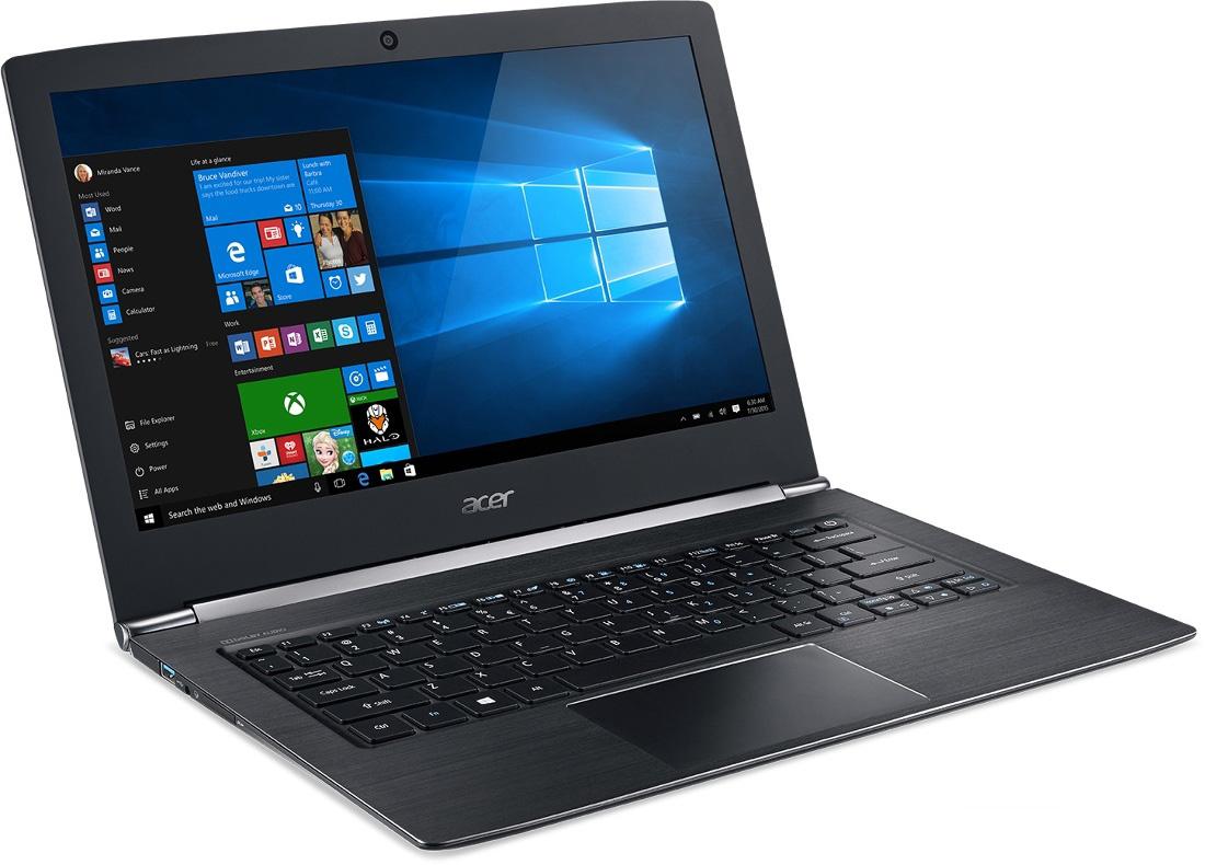 Acer Aspire (NX.GCHER.005)NX.GCHER.005Aspire S 13 это ноутбук с тонким корпусом, длительным временем автономной работы, новейшими процессорами Intel® Core™ 6-го поколения и улучшенным оснащением.