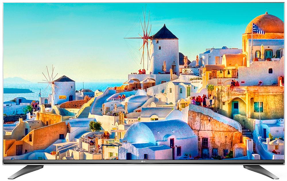 LG 55UH750V телевизор55UH750VLG 55UH750V - современный телевизор для всей семьи. HDR Pro: Функция HDR Pro позволяет увидеть фильмы с теми яркостью, богатейшей палитрой и точностью цветовых оттенков, с какими они были сняты. ColorPrime Pro: Яркие и сочные, натуральные оттенки теперь могут быть отображены благодаря расширенному цветовому спектру дисплея UHD телевизоров LG. Широкий угол обзора: IPS 4K экран UHD телевизора LG всегда покажет вам идентичные цвета вне зависимости от того из какой части комнаты вы будете его смотреть. УЛЬТРА Яркость: Схема строения панели и внутренней подсветки в UHD телевизоре LG позволяет свести к минимуму появление ореолов на границе ярких и тёмных объектов, что способствует наилучшему восприятию контрастных сцен. Трёхмерная обработка цвета: В UHD телевизоре LG используется трёхмерный алгоритм обработки цвета, что позволяет минимизировать искажения и добиться оттенков, максимально...