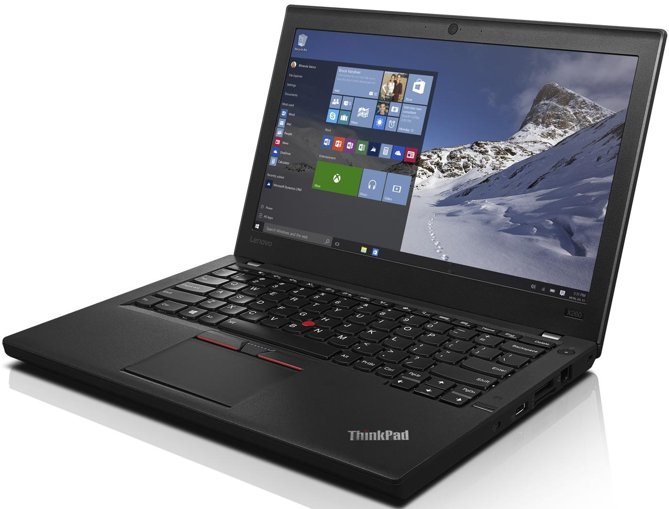 Lenovo ThinkPad X260 (20F5S56T00)20F5S56T00Ноутбук Lenovo ThinkPad X260/20F5/12.5 HD IPS Non-Touch, Intel Core i5-6200U/4GB/180GB SSD/Camera HD/WiFi/BT/WIN10Pro64. X260 — сверхмобильный ноутбук, обладающий при этом полным набором портов, широкими возможностями подключения к другим устройствам и высокой надежностью. Яркий ЖК-дисплей с матрицей IPS. Технология IPS обеспечивает насыщенные цвета и углы обзора, близкие к 180 градусам. Легендарная полноразмерная клавиатура ThinkPad с защитой от пролитой жидкости и манипулятором TrackPoint® широко известна благодаря своей эргономичности, функциональности и удобству. Она оптимизирована под Windows 10 и более поздние версии благодаря наличию мультимедийных клавиш. Светодиодные индикаторы состояния для камеры, динамиков, микрофона и клавиш Fn Lock и Caps Lock облегчат работу в темное время суток. X260 оснащен портом HDMI для подключения дополнительных внешних мониторов и вывода на них презентаций. Дополнительный USB-порт расширяет спектр средств коммуникации и упрощает передачу...