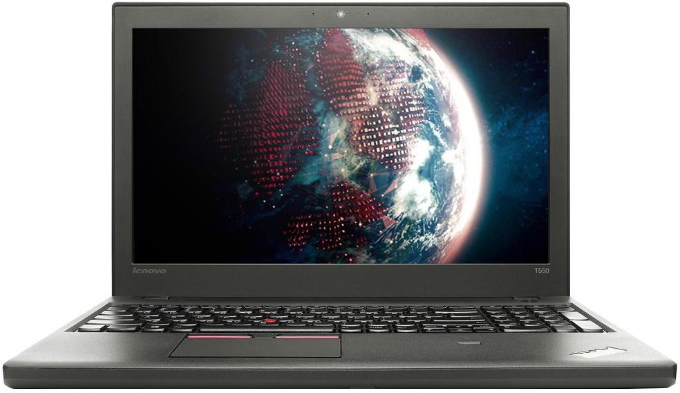Lenovo T (20CJS1XH00)20CJS1XH00Lenovo ThinkPad T550 имеет процессор Intel Core i5 2200 МГц, а так же видеокарту Intel HD Graphics 5500, в сочетании с 15.6 дюймовым экраном, пользователям доступны максимальные мультимедийные возможности. Ноутбук Lenovo T550, рассчитан на широкий круг аудитории, в том числе игровой и бизнес класса. На хранение данных и мультимедии отведен жесткий SSD диск, емкостью 256 ГБ, это позволяет всегда иметь под рукой всю необходимую информацию и файлы, не зависимо от места нахождения. Автономная работа данной модели предполагает до 6 часов.