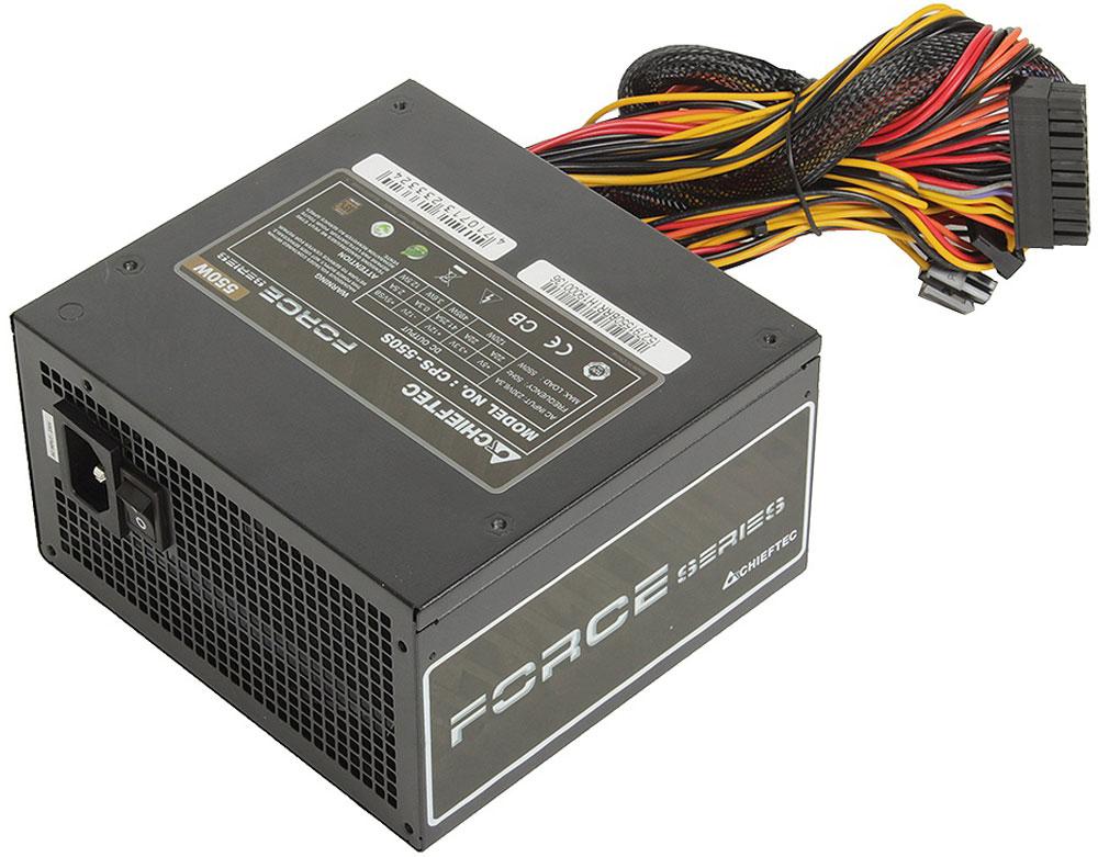Chieftec CPS-550S блок питания для компьютера4710713233324Блок питания Chieftec CPS-550S предназначен для пользователей-энтузиастов. Вновь спроектированная вентиляционная сетка обеспечивает значительное улучшение воздушного потока, в то время как 120-мм сверхтихий вентилятор имеет оптимизированный контроль температуры. С КПД 85%, она защищает окружающую среду и кошелек. Для безопасности и долговечности блока питания и вашего компьютера предусмотрена защита от перенапряжений, перегрузок и короткого замыкания в цепи.