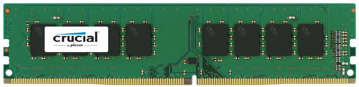 Crucial ECC Reg Dual Rank DDR4 16GB 2400МГц модуль оперативной памятиCT16G4RFD424AМодуль оперативной памяти Crucial CT16G4RFD424A прекрасно подойдет для серверов, которые нуждаются в оперативной памяти с высокой производительностью. По сравнению с DDR3, оперативная память DDR4 предлагает удвоенную пропускную способность, при этом потребляя меньше питания (1.2 В). Crucial CT16G4RFD424A совместима с процессорами Intel семейства Xeon Е3- 1200 V3 и е5-2600 V3. DDR4 обеспечивает повышенную производительность, увеличенную емкость DIMM, улучшенную целостность данных и пониженное энергопотребление. В дополнение к оптимизированной производительности и более низкому энергопотреблению DDR4 также выполняет циклические проверки с избыточностью (CRC) для обеспечения повышенной надежности хранения данных, имеет встроенную функцию контроля нарушения четности для проверки целостности передачи команд и адресов, обеспечивает повышенную целостность сигнала и другие функции RAS.