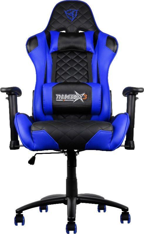 ThunderX3 TX3-12, Black Blue профессиональное геймерское кресло